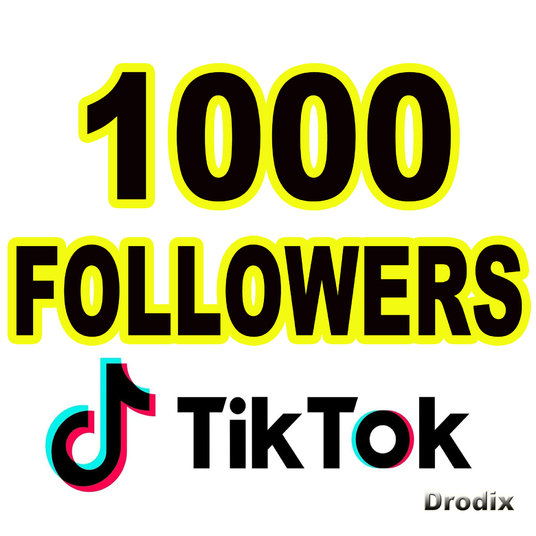 I will I Provide 1000 Tik Tok Followers NON DROP