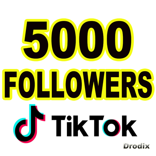 I will Provide 5000 Tik Tok Followers, non drop