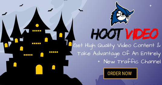 I will make HOOT Video  Unique Explainer Video Creation & Submission That Will Bring You Traf