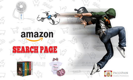 I will Create an Amazon Product and Search Page
