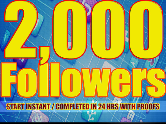 I will provide 2,000 Facebook Real and Active Followers