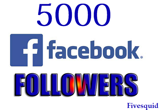 I will Deliver 5000 Facebook Followers