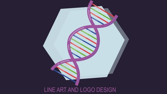 design line art and logo