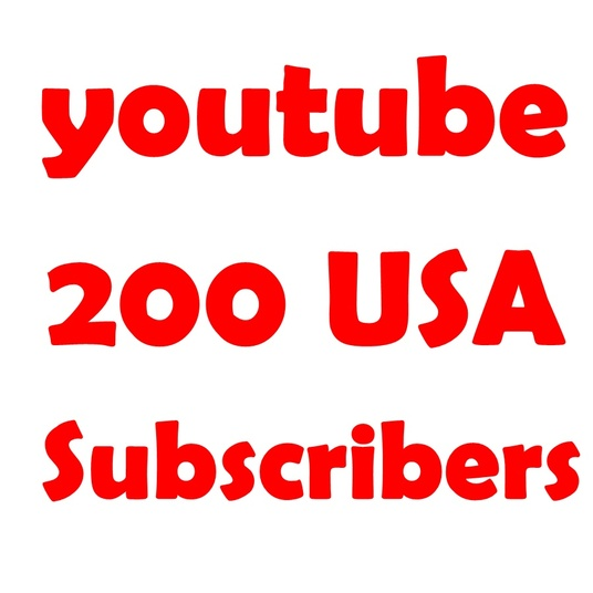 I will Add 200 USA Youtube Subscribers