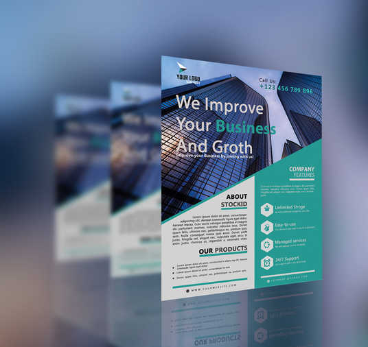I will Design Awesome Business Flyer