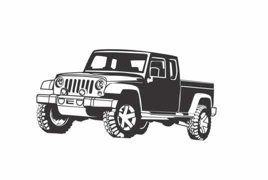 draw awesome vehicle line art
