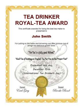create you an excellent fun certificate for any occasion