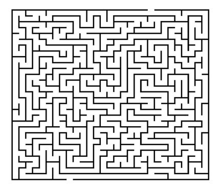 make you 300 never been published 30 x 30 printable mazes