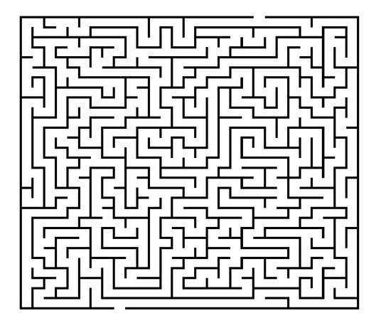 I will make you 300 never been published 30 x 30 printable mazes