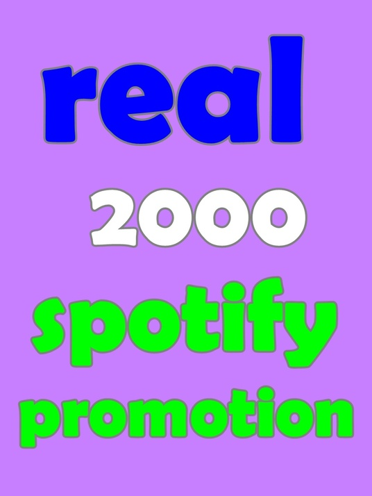 I will Provide 2000 Spotify Real Followers