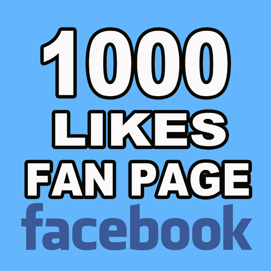 I will give you 1000 Facebook Fan page likes