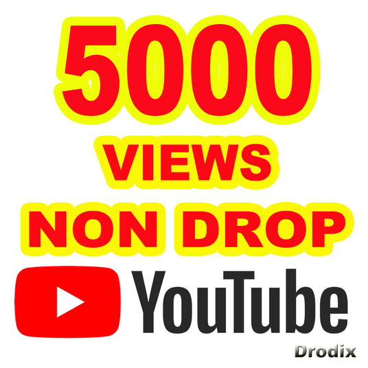I will provide 5000 Views YouTube Non Drop