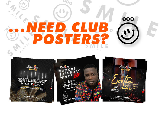 I will create an outstanding Club Poster for print and social media