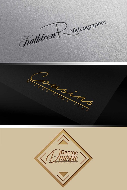 I will Create A Signature Or Handwritten Logo