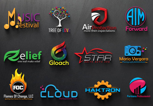 I will Design Creative 3d Logo Design With Full Copyrights