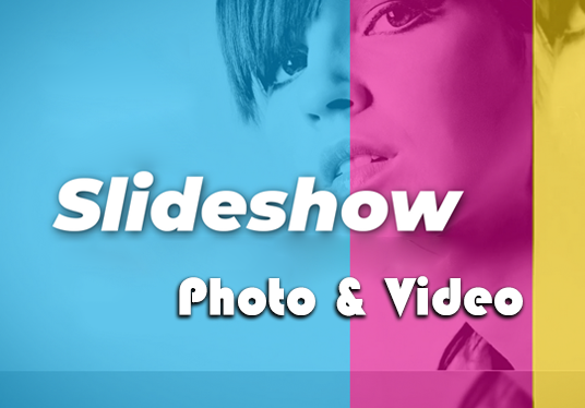 I will create an awesome slideshow video from your photos and videos