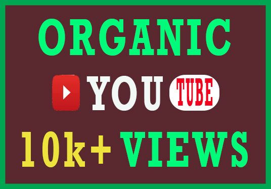 I will Provide 10k+ Organic youtube Video Views