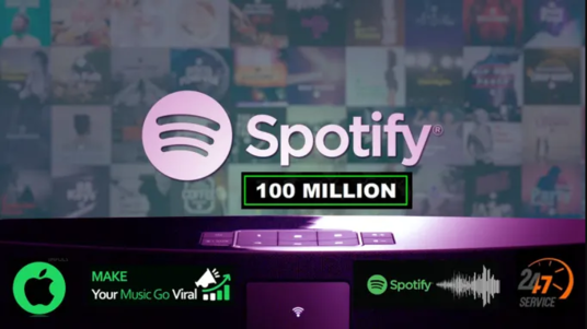 I will To Do 10k Spotify Promotion For Monthly Listeners