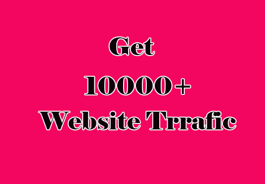 I will Drive 10000+ web Traffic