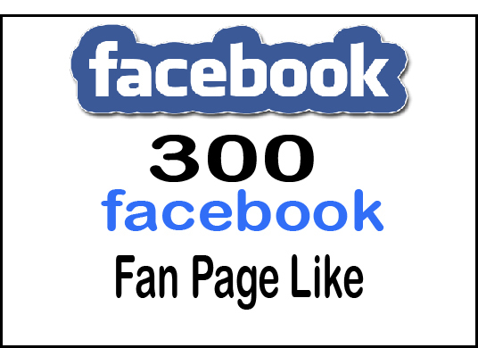 I will provide 300+ facebook fan page likes