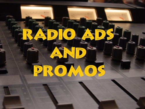 produce a radio commercial including the voice-over's fee up to 30 seconds
