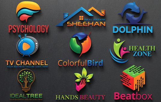I will Do Brand Identity 3d Logo Design For Your Business