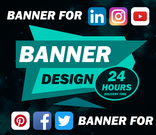 I will do banner design