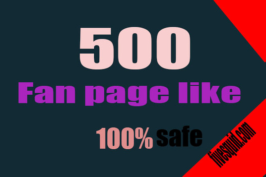 I will Give 500 High Quality Active Facebook likes