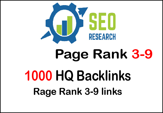 I will do 1000 PR 3-9 backlinks