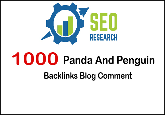 I will Create 1,000 Panda & Penguin Safe Backlinks Blog Comments