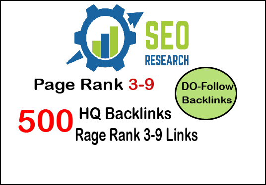 I will do 500 do-follow PR 3-9 backlinks