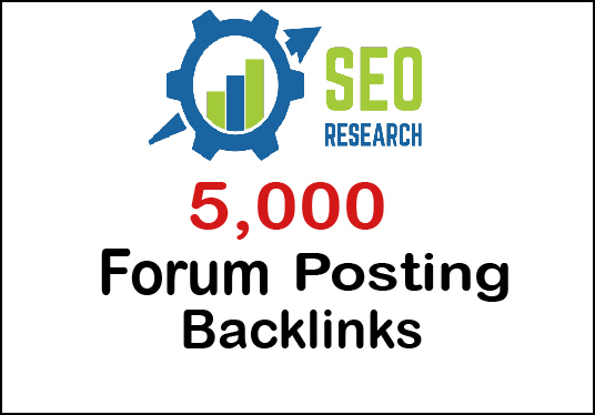 I will provide 5000 forum Posting backlinks