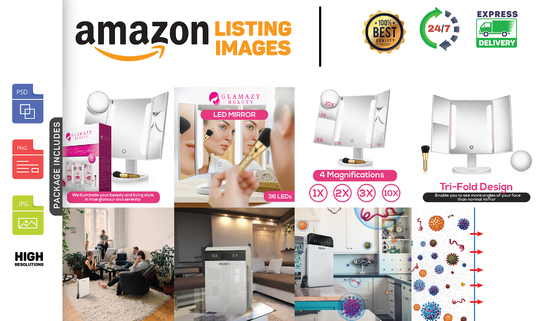 I will design amazon images, web banners and google ads