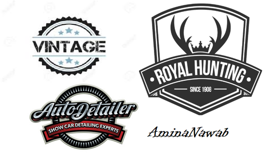 I will design  best vintage and retro logo for you