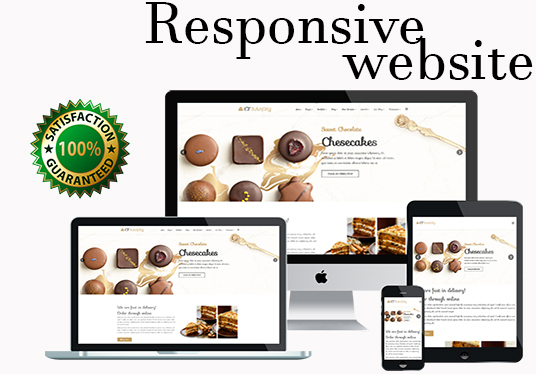create clean and responsive website design