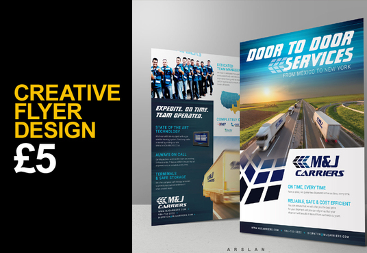 I will Design your Stunning Flyer Or Brochure