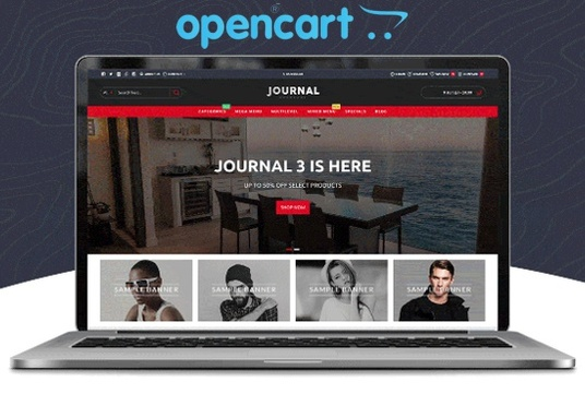 I will install Opencart Journal 3 theme