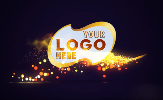 make Beauty Particle Logo Reveal intro animation any colors for your Brand