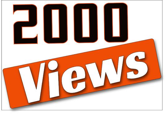 I will give you 2,000 targeted UK youtube views