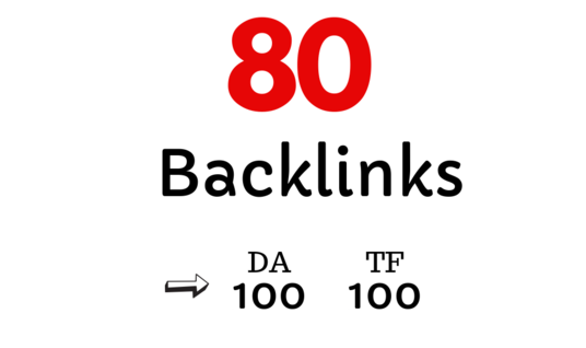 I will create 80 High Quality Backlinks to Explode Ranking