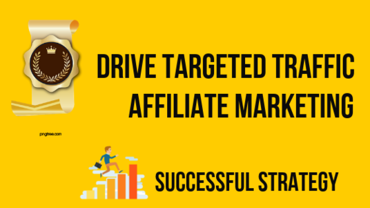 I will drive targeted traffic for affiliate marketing