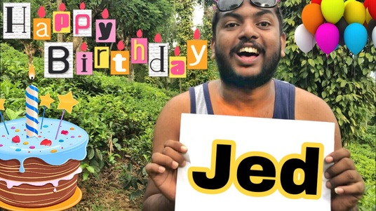 do funny happy birthday video with your message