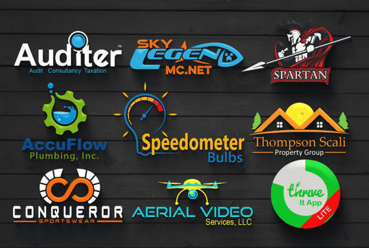 I will Design A Modern 3d Logo With Copyrights