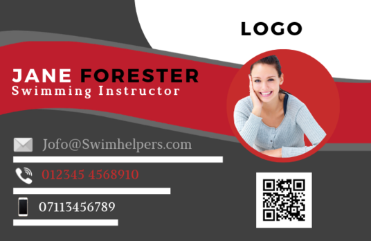 design a professional modern business card for your business