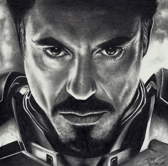 I will draw a pencil sketch of your portrait