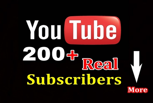 I will add 200+ Youtube subscribers for your channel
