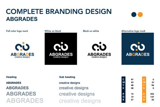 create your complete brand identity