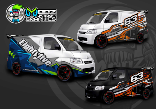 I will Create Vehicle Wrap, Car Wrap Mockup Design
