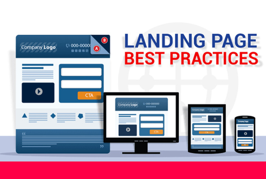 I will design stunning  Mobile-Friendly Landing Page  or Squeeze Page