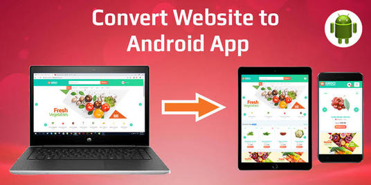 Convert Website To Android App And IOS App